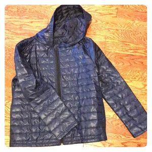 Jackets & Blazers - Navy puffer jacket